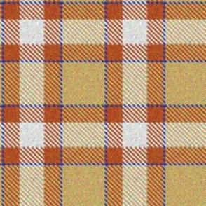 Pumpkin, Lemon and Blueberry Plaid 1