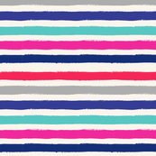 Painted Stripe Colorful