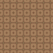 Simple Tile in Green and Tan