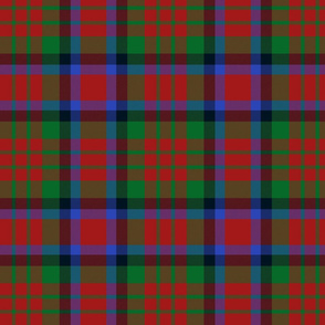 MacDuff tartan - green line variant