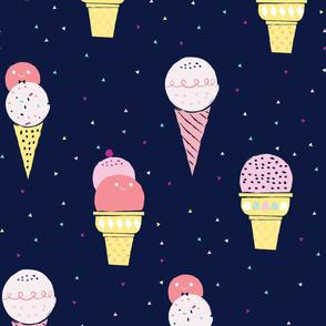 Deluxe ice cream