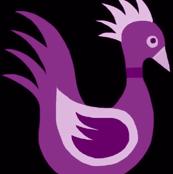 Duck Dance Purple Pale Pink