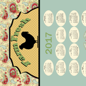 Tea Towel 2017_calendar_horizonal