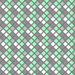 Checkerboard - green
