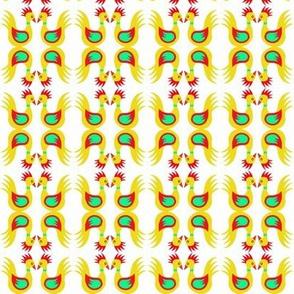 Duck Dance Yellow Red Celery