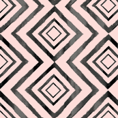 ikat_tribal_diamond_Blush Pink