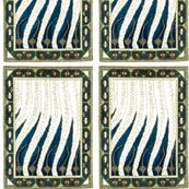 Liekki Flame rug by Akseli Gallen-Kallela