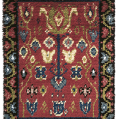 Koylio traditional finnish wall rug