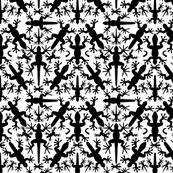 Lizard_Gecko_Foggy_Symmetrical__Silhouettes