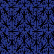 Lizard_Gecko_Night_Symmetrical__Silhouettes
