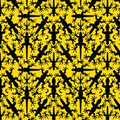 Lizard_Gecko_Sunny_Symmetrical__Silhouettes