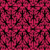 Lizard_Gecko_Sunrise_Symmetrical__Silhouettes