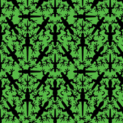 Lizard_Gecko_Tropical_Symmetrical__Silhouettes