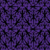 Lizard_Gecko_Twilight_Symmetrical__Silhouettes