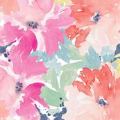 Cute Watercolor Flowers Sadie