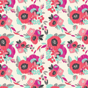 Janis_Ikat_Poppies_Bright