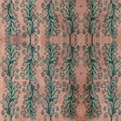 curly_vines-peach teal