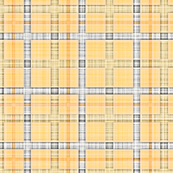 Plaid Grid in Yellow Orange