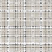 Plaid Grid in Grey