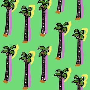 Techno XVIII (2015) (Coconut Trees)