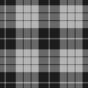 half scale MacLeod mourning tartan