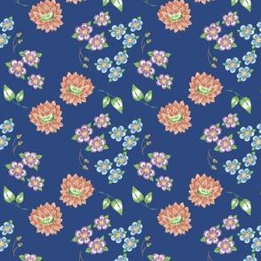 Retro Floral Repeat