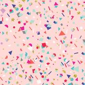Blush Pink Confetti
