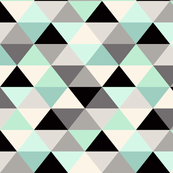 Triangle_Geometric_Pattern_Mint_Green