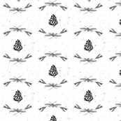 Winter Elements Fabric