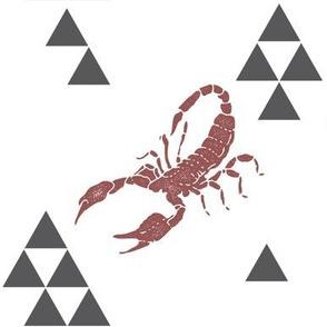 Geometric Scorpion in Wine