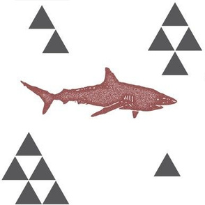 Geometric Shark in Wine