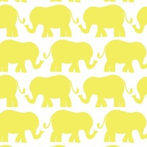 elephant_yellow_on_white