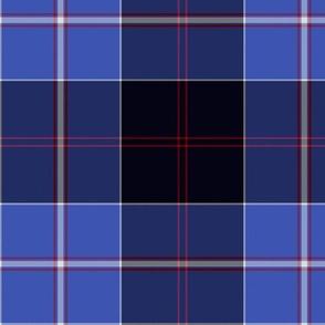 Dunlop tartan - blue