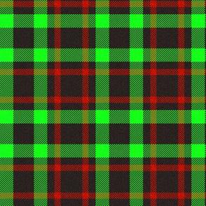 Black/Green/Red Plaid 2