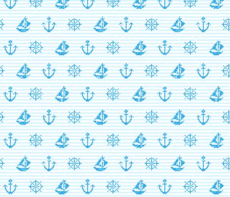 Sea Knitting Blue
