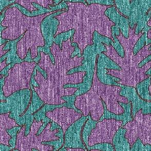Falling-Leaves3-fabric5-LUMINOSITY-over-eggplant-n-dkturqsweater6jdark-turq-sweater