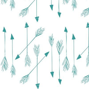 arrows in turquoise