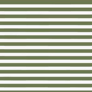 Olive Green Wide Stripe