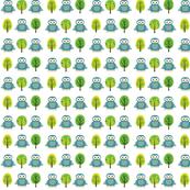 Owls & Trees