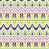 ikat pattern, ethnic style