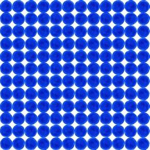 Blue Dots Grid