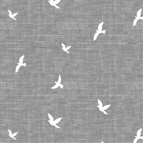 Birds Texture - Gray