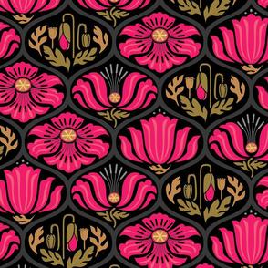 Poppy ogee_MOD Hot Pink Lg
