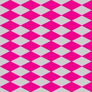 Danita's Pink Diamonds on Gray