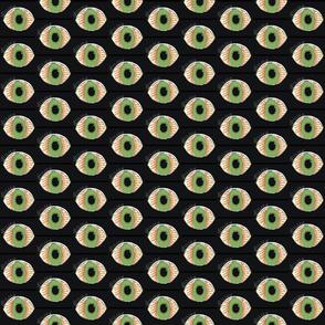 Eyeballs Green Eye Monster