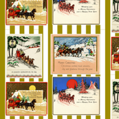Horse And Carriage Cards