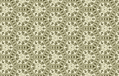 Floral Geometric in Greens