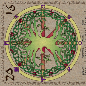2016 Tree of Life Calendar