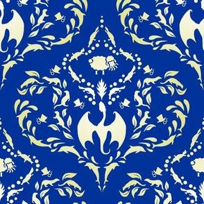 Wayward Baroque Blue Large