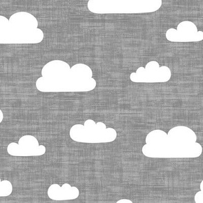 Clouds - Gray texture